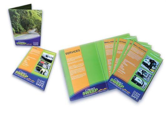 Cleansweep Folder With Inserts